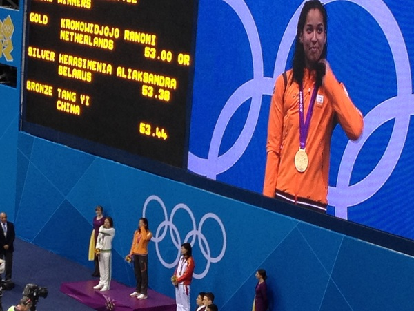 Winner!!! #GOLD #GoTeamNL