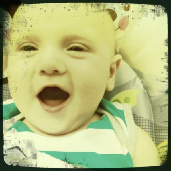 Fletcher of the day: happy boy!