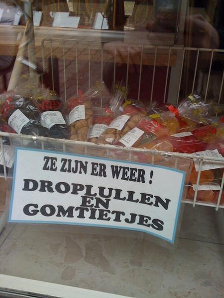 Groeten van Texel.