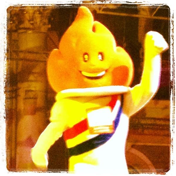 Yeah!! #hhh2012 net Carnaval met die brabo's hier:-)