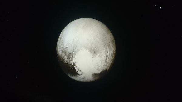 Best image of Pluto so far, from New Horizons. Awesome!