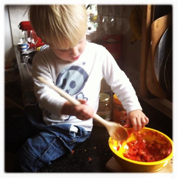 Fletcher of the day: Little helper
