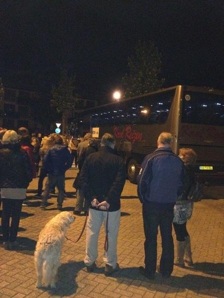 De bus naar Londen