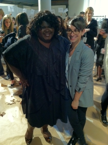 Backstage with Gabourey Sidibe