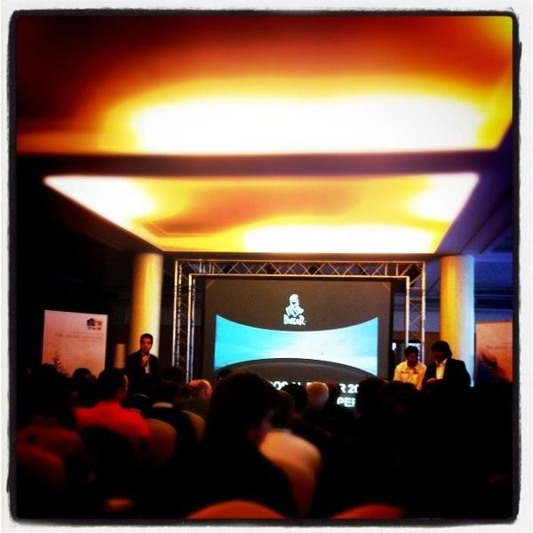 En la presentación del #dakar2012 en #barcelona