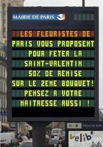 Only in Paris...