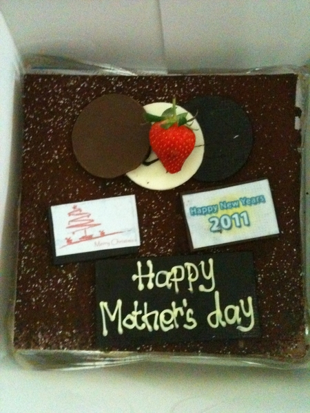 Gini nih klo pny koko pelit, beli 1 kue bwt 3 event (mother's day, xmas n new year)