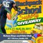 Meet me today at the rotary boys and girls club in Seattle today for free school supply's!!!!