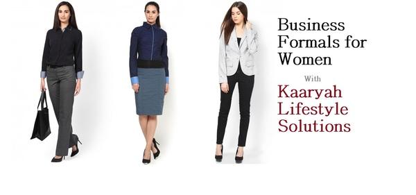 business formals