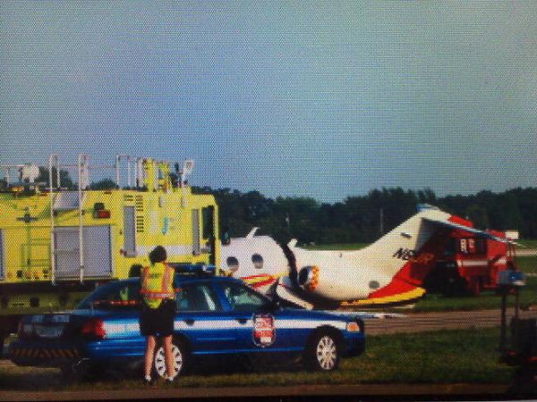 Avião que se acidentou agora a pouco #osh10