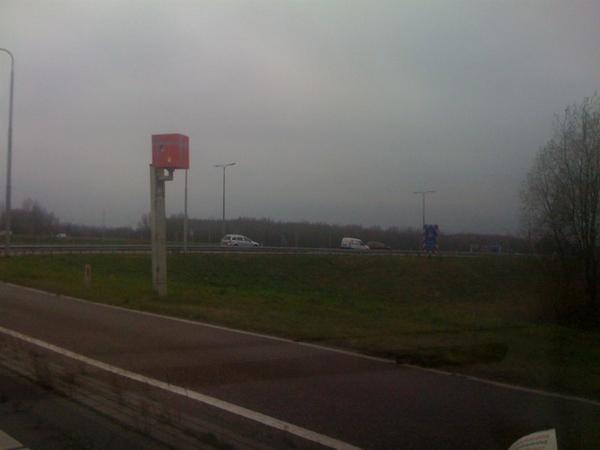 #flitspaal bij almere