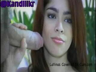 Latinas Cream Covered Part2 Cummin Soon!!Kandilikr