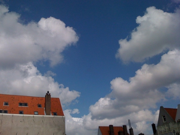 Dutch skies can be so beautiful