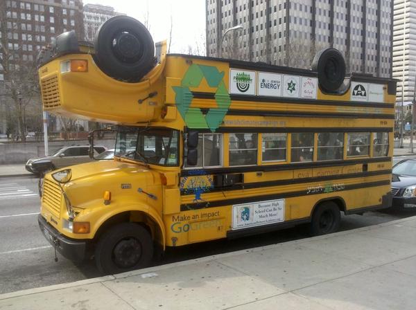 Jewish Climate Campaign bus