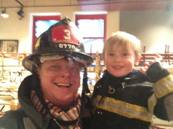 Fletcher of the day: my firefighters