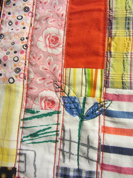 @willeke1972 @Anitaquilt En detail van de tas, moet nog gehaakte bloem, en hengsel :)