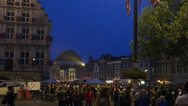 Superdruk in t centrum #gouda #singelloop