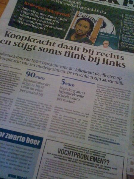 Good enough content, volgens de Volkskrant. Pechtold dacht er anders over.