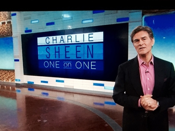 please join Dr Oz and I, today and tomorrow, as we embark on an epic journey you don't want  to miss! © #OzSheen2016