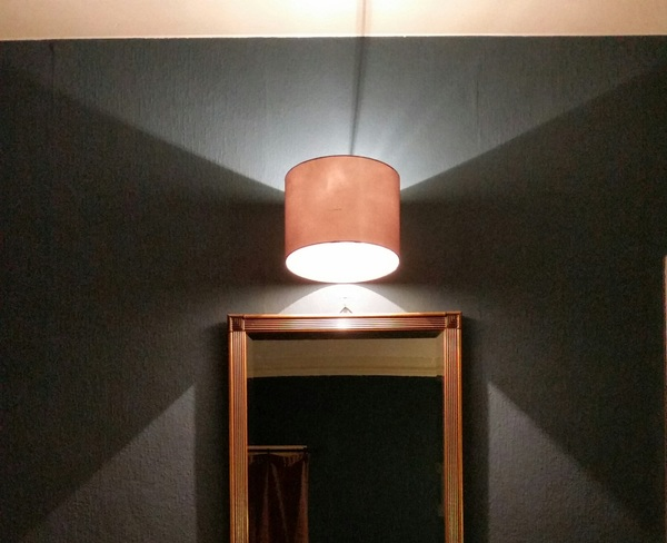 Ina serene beauty from an upcycled lampshade style. Or as Kev #GrandDesigns says, a #corona