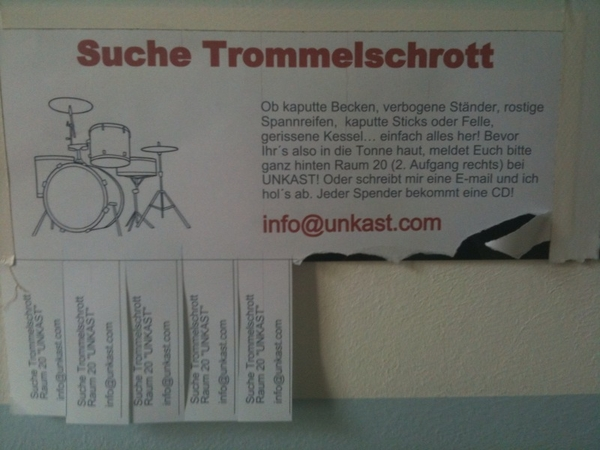 Foto.Podcast Trommelschrott