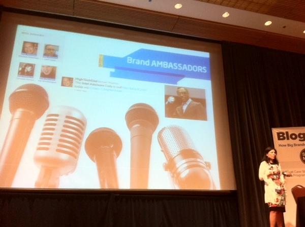 Intel Brand Ambassadors & Advisors @BeckyAnnBrown cc @alisonawesley #BlogWell