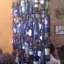 Anima's wine bottle curtain
