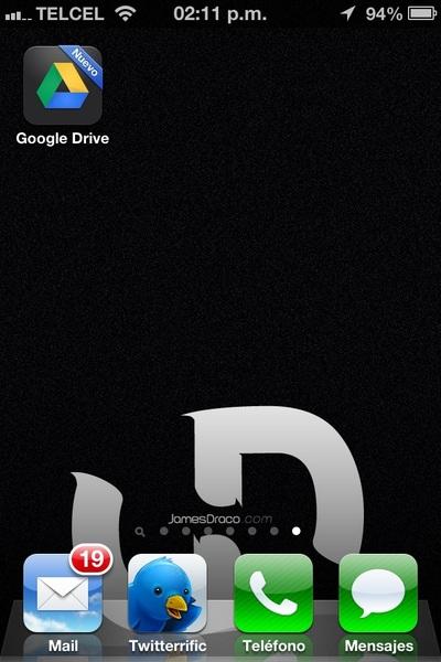 Google Drive solo esta por el momento en la App Store de México, ya no ha de tardar Chrome. #iOS