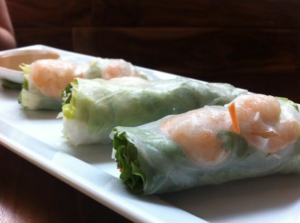 Gr8 spring rolls, Bahn Bao (pork belly)&BBQ Wagyu Bahn Mi @ Saigon Sisters 4 lunch>home 2 make din 4 friends/fam