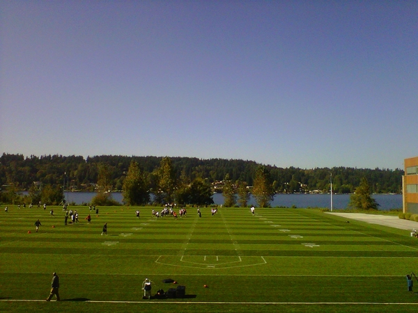 An absolutely perfect fall day for practice at Hawks HQ this afternoon