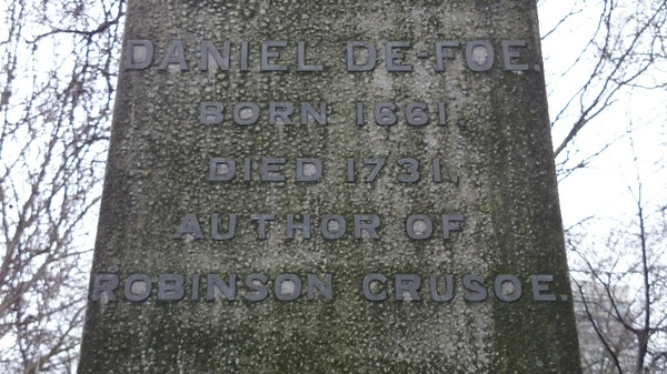 Daniel Defoe, Author #followfriday