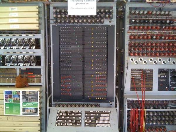 Rebuild of the world's first electronic computer #bpark