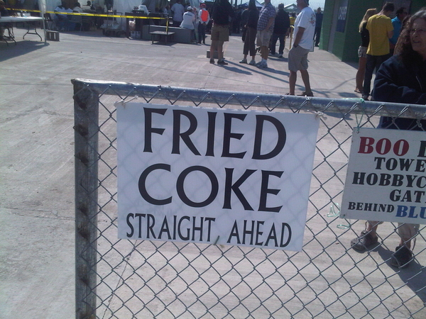 Fried coke: this must be the South #louisiana