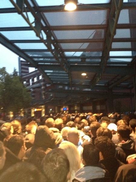 #chaos #iphone5nl veel Nederlanders hier in oberhausen