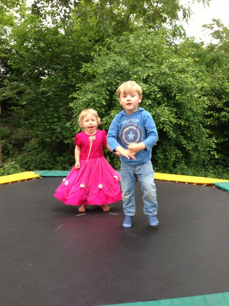 Fletcher of the Day: Jumping with Sarah